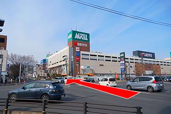 長町駅からの道順1