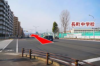 仙台駅からの道順3