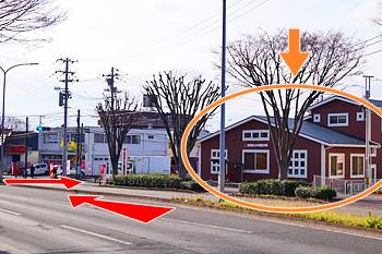 仙台駅からの道順8