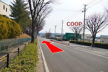 八木山動物公園からの道順6